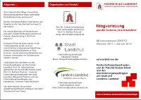 FH-Landshut Ringvorlesung Flyer