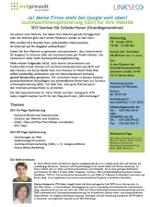 SEO-Seminar webgewandt und LINK SEO 14.11.2012