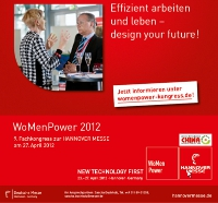 Screenshot WoMenPower Messe 2012 Hannover