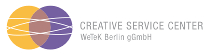 Logo des Creative Service Center Berlin (ehemals ARTWert)